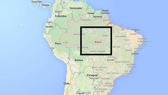 Brasil map