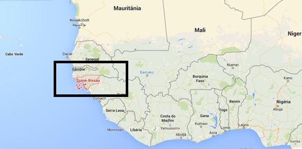 Guine-Bissau map